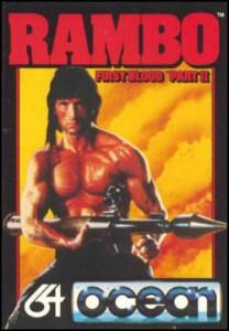 Rambo C64 Cover
