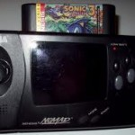 The Sega Nomad - play those Mega Drive games on the move - quite rare and worth a bit of cash