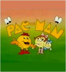 PacMan 1980's Cartoon